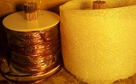 100 Feet Parallel Coils of 8 #23 magnet wire
